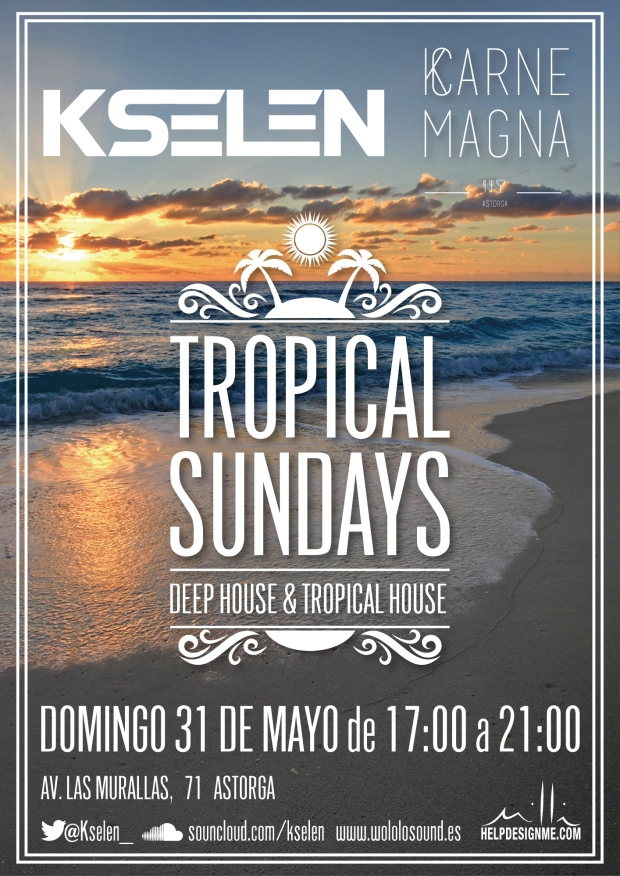 cartel-Karne-Magna-tropical-sundays2