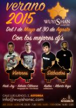 """Cartel para Pub Wuyishan - """"Verano 2015"""""""