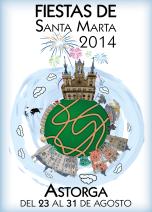 Propuesta para fiestas de Santa Marta de Astorga 2014