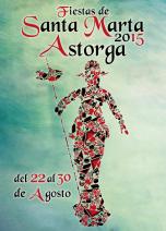 Propuesta para fiestas de Santa Marta de Astorga 2015